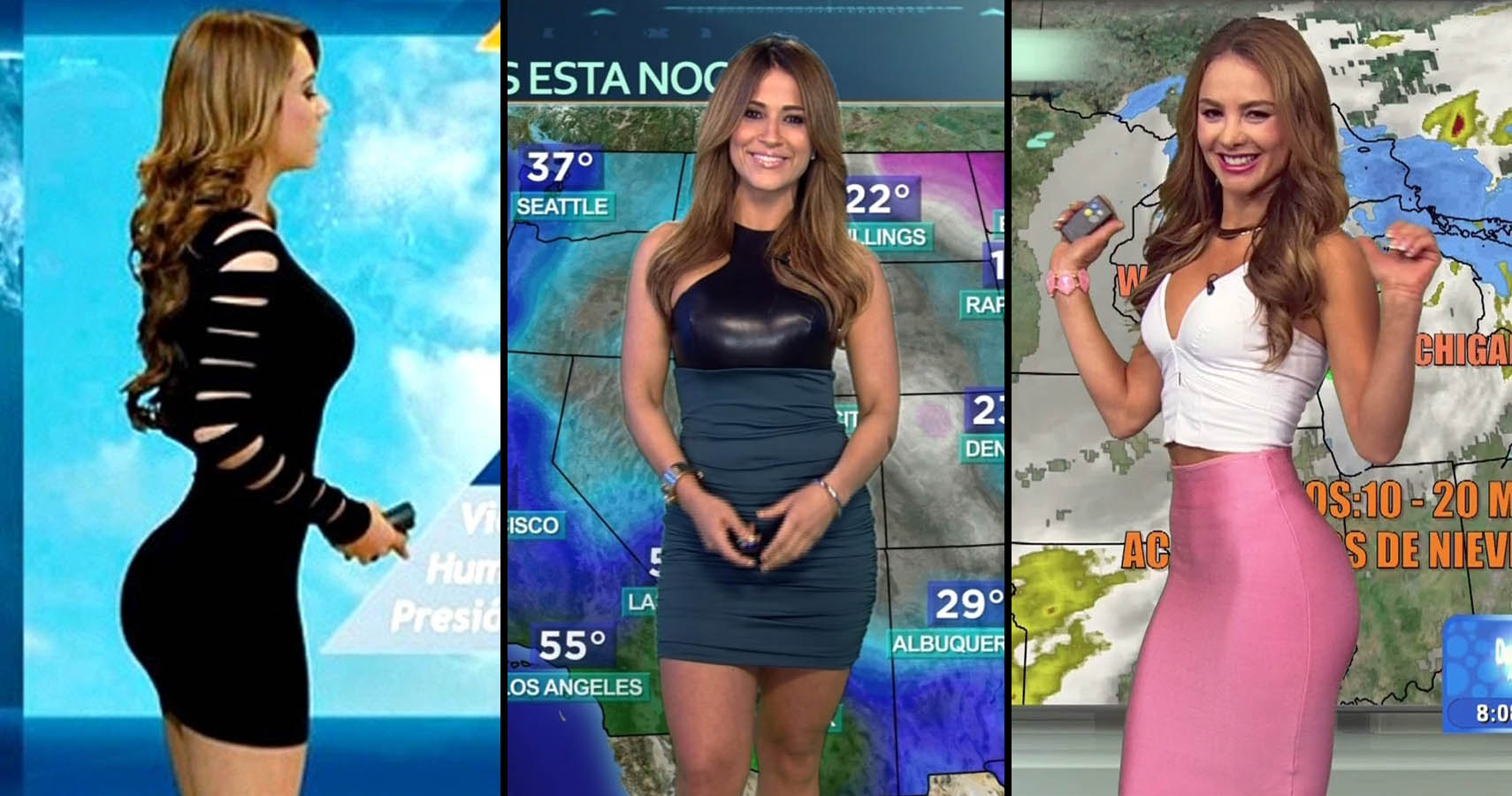 Apologise, but, Sexy weather channel women naked join