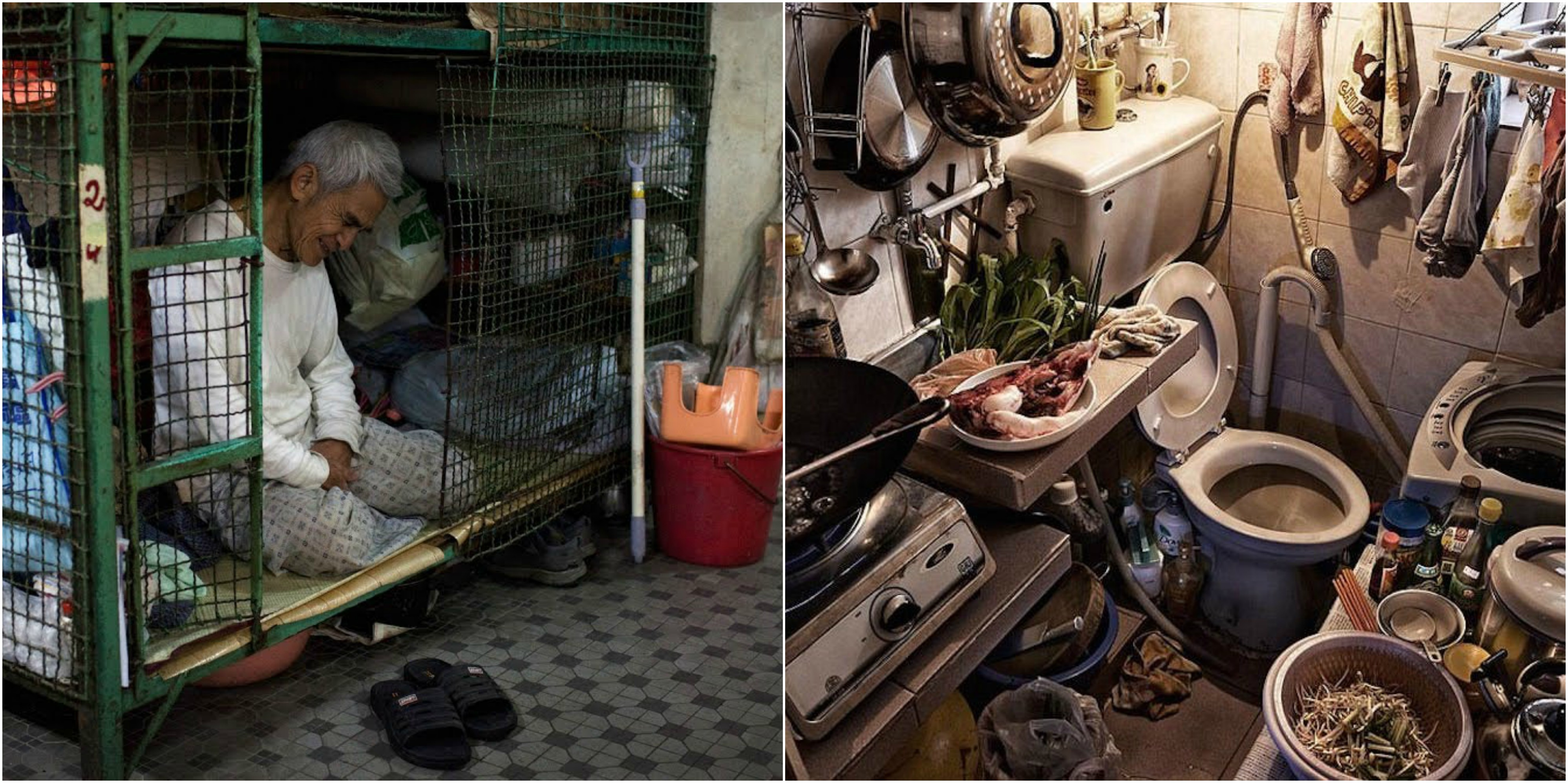 Shocking Images From Inside Hong Kongs Cramped Coffin Cubicles - 10 shocking photos inside hong kongs coffin cubicles